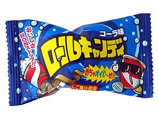 ロールキャンディー コーラ味 単価32円×24入