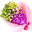 花束 プレゼント デンファレの花束 銀婚式 金婚式 還暦祝い...