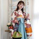 【販売用ページ】袴2点セット 着物 ひよこ商店 卒業式 ブラ...
