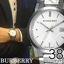 楽天腕時計のセレクトショップカプセル\新春セール中/バーバリー 腕時計 メンズ 男性 [BURBERRY] 時計 シティ ( The City ) シルバー BU9037 [おすすめ ブランド プレゼント ギフト オシャレ メタル ベルト][おしゃれ 腕時計]