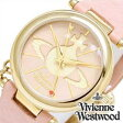 [送料無料]ヴィヴィアン腕時計 [Vivienne時計](Vivienne Westwood 腕時計 ヴィヴィアン ウェストウッド 時計) タイムマシーン オーブ (TIME MACHINE) レディース時計/ピンク/VV006PKPK[ギフト/プレゼント/ご褒美]