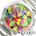 [送料無料][プレゼント・ギフト] COGU腕時計[コグ時計] COGU 腕時計 コグ 時計 迷彩 ミリタリー モザイク シルバーカラー