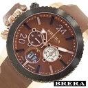 [当日出荷] ブレラオロロジ腕時計 BRERAOROLOGI時計 BRERA OROLOGI 腕時計 ブレラ オロロジ ミリターレ 時計 メンズ ブラウン ホワイト BRML2C4804 [ダイバーズ ブラウン オロロージ 茶 ギフト プレゼント おしゃれ ブランド ] 誕生日