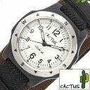 【小学生のお子様に】【プレゼントにおすすめ】カクタス腕時計 CACTUS時計 CACTUS 腕時計 カクタス 時計 男の子 女の子 クリーム CAC-65-M12 [cactus キッズ ミリタリー ブラック 黒 カーキ ギフト プレゼント ご褒美][おしゃれ 腕時計]