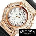 ロマゴデザイン腕時計[ROMAGODESIGN時計](ROMAGO DESIGN 腕時計 ロマゴ デザイン 時計) (Trend series) メンズ レディース シルバー RM..
