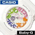 [送料無料][5年保証対象] カシオ腕時計 CASIO時計 CASIO 腕時計 カシオ 時計 ベイビーG BABY-G レディース/ホワイト BGA-131-7B3JF [アナデジ/デジタル/液晶/防水/マルチ カラー/ネオン/シンプル/ベビーG][ギフト/プレゼント][父の日]