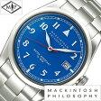 [送料無料][5年保証対象] マッキントッシュフィロソフィー腕時計 MACKINTOSH PHILOSOPHY 腕時計 マッキントッシュ フィロソフィー 時計 メンズ/ブルー FBZT983 [メタル ベルト/正規品/防水/SEIKO/ビンテージライン/ミドル/シルバー/レッド/7N42]