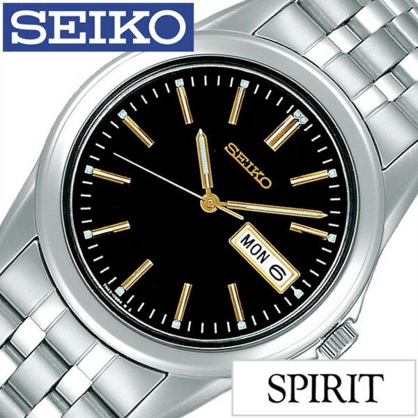 セイコー腕時計 SEIKO時計 SEIKO 腕時計 セイコー 時計 スピリット SPIRIT メンズ/ブラック SCXC015 [メタル ベルト/正規品/限定/シルバー/シンプル/ゴールド/ギフト/プレゼント/ご褒美][ おしゃれ腕時計 ] [新生活 新社会人 入学 卒業] [正規品][5年延長保証][送料無料][プレゼント・ギフト]SEIKO腕時計[セイコー時計]SEIKO 腕時計 セイコー 時計 スピリット (SPIRIT)