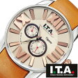 アイティーエー 腕時計 I.T.A. 腕時計 アイティーエー 時計 I.T.A. 時計[ITA] ITA腕時計 ITA時計 オペラ Opera メンズ/ブラウン ITA-21-00-01 [革 ベルト/機械式/自動巻/メカニカル/正規品/イタリア/ブランド/ファッション/クリーム][プレゼント・ギフト][ おしゃれ腕時計 ]