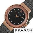 スカーゲン腕時計 SKAGEN時計 SKAGEN 腕時計 スカーゲン 時計 レディース/ダークグレー 456SRM [人気/新作/ブランド/防水/ステンレス ベルト/グレー/ゴールド]