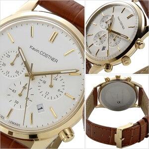 [5年保証対象]ジャックルマン腕時計[JACQUESLEMANS時計]ジャックルマン時計[JACQUESLEMANS腕時計]ケビンコスナーコレクションシグネチャーKEVINCOSTNERCOLLECTIONメンズ/レディースJALKC-103B[ブランド/革ベルト/レザー/ゴールド][送料無料]