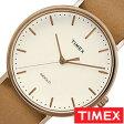 タイメックス腕時計 TIMEX時計 TIMEX 腕時計 タイメックス 時計 ウィークエンダー フェアフィールド Weekender Fairfield 41mm メンズ/ホワイト S-TW2P91200 [正規品/NATO ベルト/ナトー/新品/ファッションウォッチ/シンプル/ブラウン/ローズ ゴールド]