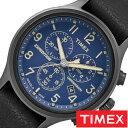 [あす楽]タイメックス腕時計 TIMEX時計 TIMEX 腕時計 タイメックス 時計 スカウト クロノ Scout Chrono メンズ ブルー TW4B04200 [ 正規品 革 ベルト 新品 ファッションウォッチ ミリタリーテイスト ブラック グレー おしゃれ ブランド ] 誕生日 冬ギフト