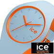 アイスウォッチ 時計[ ICEWATCH 腕時計 ]アイス ウォッチ[ ice watch ]アイス デュオ[ ice duo ]メンズ/レディース/ライトブルー DUOOESUS [人気/流行/トレンド/防水/シリコン/DUO.OES.U.S.16/オレンジ][プレゼント・ギフト][ おしゃれ腕時計 ]