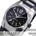 ブルガリ 腕時計 [ BVLGARI時計 ]( BVLGARI 腕時計 ブルガリ 時計 ) エルゴン ( ERGON ) メンズ/腕時計/ブラック/EG35BSVD [ウレタン ベルト/機械式/自動巻/メカニカル/スイス/シルバー/オート ボーイズ][プレゼント・ギフト][ おしゃれ腕時計 ]