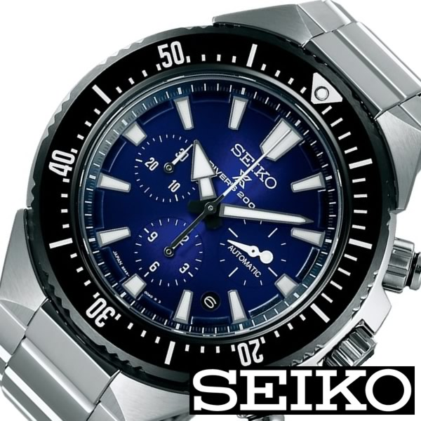 セイコー 腕時計 [ SEIKO時計 ]( SEIKO 腕時計 セイコー 時計 ) プロスペックス ( PROSPEX ) メンズ/腕時計/ブラック/SBEC003 [メタル ベルト/メカニカル/機械式/自動巻/正規品/ダイバーズ/コラボレーション/シルバー][プレゼント・ギフト][ おしゃれ腕時計 ] [入学 卒業] [正規品][5年延長保証][送料無料] SEIKO腕時計 [ セイコー時計 ] SEIKO 腕時計 セイコー 時計 プロスペックス ( PROSPEX )