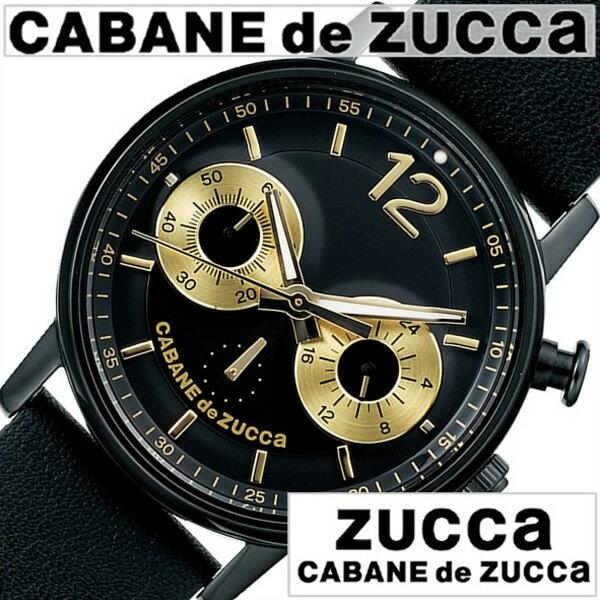 カバンドズッカ腕時計 CABANEdeZUCCA時計 CABANE de ZUCCA 腕時計 カバンド ズッカ 時計 メンズ/レディース/ブラック AJGT014 [新作/人気/正規品/ブランド/防水/革/レザー ベルト/SEIKO/セイコー/ギフト/プレゼント][母の日] []CABANEdeZUCCA時計 カバンドズッカ腕時計 CABANE de ZUCCA 腕時計 カバンド ズッカ 時計