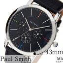 [あす楽]paul smith時計 ポールスミス腕時計 paul smith 腕時計 ポールスミス 時計 エムエー マルチ MA MULTI 43MM