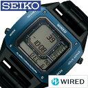 セイコー腕時計 SEIKO時計 SEIKO 腕時計 セイコー 時計 ワイアード BASEL限定モデル WIRED メンズ グレー AGAM701 [新作 人気 正規品 ブランド 防水 デジタル ワイヤード メタル ブラック][おしゃれ 腕時計]