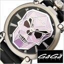 [あす楽]GAGAMILANO時計 ガガミラノ腕時計 GAGA MILANO 腕時計 ガガ ミラノ 時計 マニュアーレ Manuale 48mm