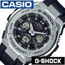 [あす楽]CASIO時計 CASIO 腕時計 時計ジーショック 頑丈 な 時計 防塵 ジースチール G-SHOCK G-STEEL メンズ ブラック GST-W310-1AJF [..