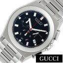 [あす楽]グッチ腕時計 GUCCI時計 GUCCI 腕時計 グッチ 時計 パンテオン PANTHEON メンズ ブラック YA115235 [新作 人気 ブランド 防水 高級 おすすめ ファッション プレゼント ギフト メタル おしゃれ 腕時計] 誕生日