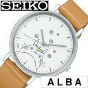 セイコー腕時計 SEIKO時計 SEIKO 腕時計 セイコー 時計 アルバ ALBA レディース ホワイト ACCK412 [ 正規品 ブランド ラウンド キャラ..