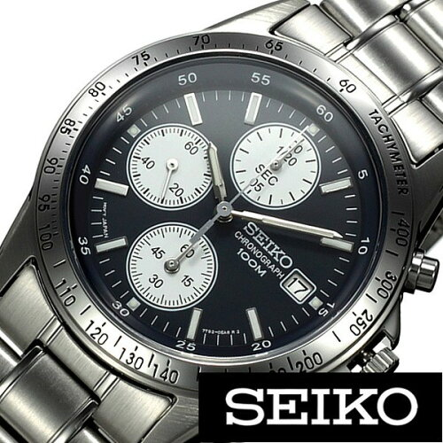[ 人気商品 ] セイコー腕時計[ SEIKO時計 ](SEIKO 腕時計 セイコー 時計)クロノグラフ メンズ SND365PC [ 正規品 ビジネス リクルート スーツスタイル クロノグラフ 日付 カレンダー メタル ステンレス ベルト カジュアル ブランド プレゼント ギフト ][おしゃれ]