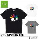 【ゆうパケット対応】 HUF ハフ Tシャツ DBC SPORTS TEE ブラック グレー ホワイト トップス メンズ レディース クリスマスプレゼント