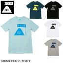 【ゆうパケット対応】 POLER ポーラー Tシャツ MENS TEE SUMMIT ブラック ホワイト グレー ブルー メンズ レディース アウトドア スケート フェス アウトドア キャンプ サーフ
