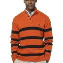 男性流行服飾 - Ralph Lauren Chaps ラルフローレン チャプスメンズ クラシックフィットモッネックセーターオレンジボーダー
