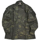 【TRU-SPEC トゥルースペック】TRU Tactical Response Uniform Shirt [MultiCam Black] タクティカル レスポンス ユニフォーム シャツ マルチカム ブラック