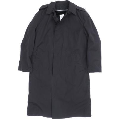 US(米軍放出品)ステンカラー コート ALL WEATHER COAT ライナー付き[ブラック]