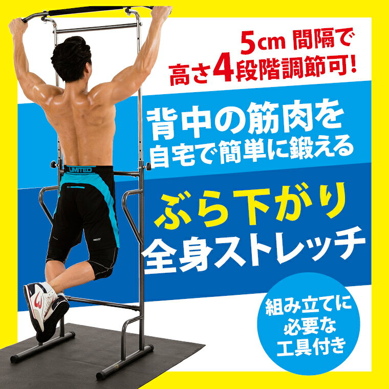 【BODYMAKER】 ヘルシートレーナー マルチトレーニング ぶら下がり健康器 これ一台でなんでもできる!
