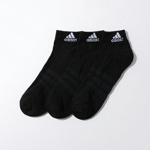 【アディダス】 3足セット パフォーマンス 3P ショート ソックス 靴下 【adidas】