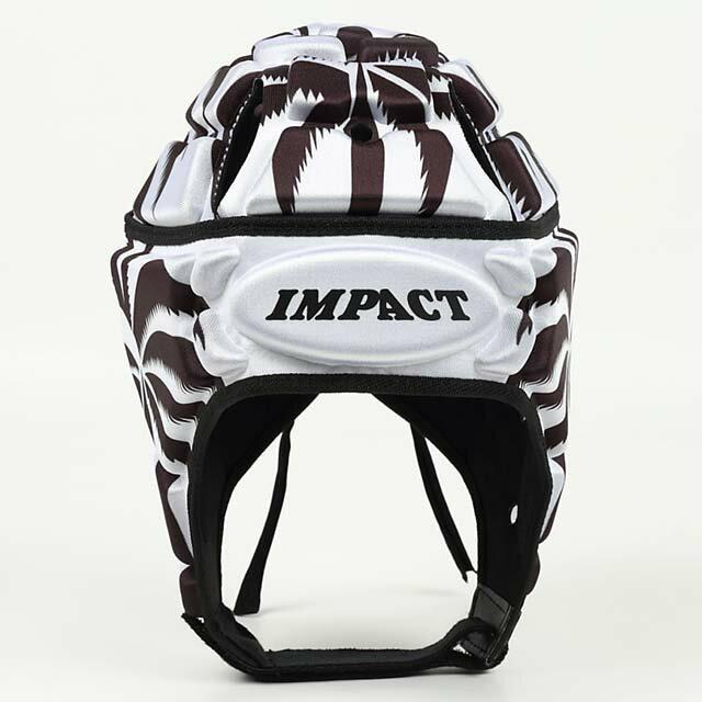 【送料無料】 【IMPACT】 インパクト フィジーホワイト ラグビー ヘッドキャップ ヘッドギア 【V2 Premium Vented】