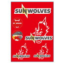 【サンウルブズ】SUNWOLVES ウォールステッカー スーパーラグビー