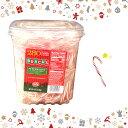 【costco コストコ】【Bobs ボブズ】Mini Candy Cane ミニ キャンディ ケイン ステッキ約280個入 1.22kgあめちゃん ミントハッカ飴