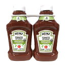ショッピングコストコ 【HEINZハインツ】TOMATOKETCHUP オーガニック トマトケチャップ 1247g × 2本【輸入食材 輸入食品】