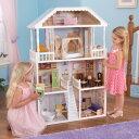送料無料 KIDKRAFT 3階建+ロフト 木製ドールハウスセット サバンナドールハウス 家具14点付き キッドクラフト