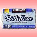 BathTissue トイレットペーパー ロールカークランド ティッシュ