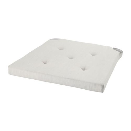 【当店ポイント5倍】【IKEAイケア】JUSTINA チェアパッド35/42x40x4.0 cm ダイニングチェアパッド 【ナチュラル】