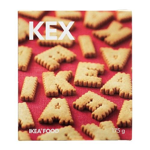 バレンタインセール【IKEAイケア】KEX アルファベットクッキー ビスケット 175g05P04Jul15