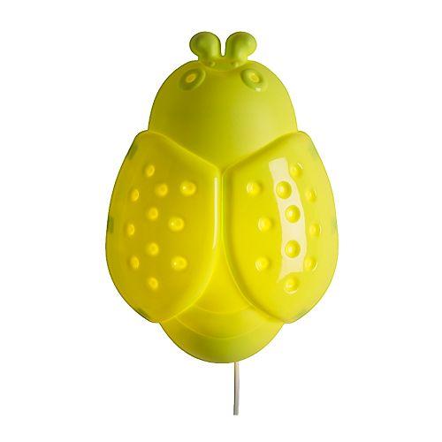 ★【IKEAイケア】SMILA BAGGEウォールランプ てんとう虫05P04Jul15