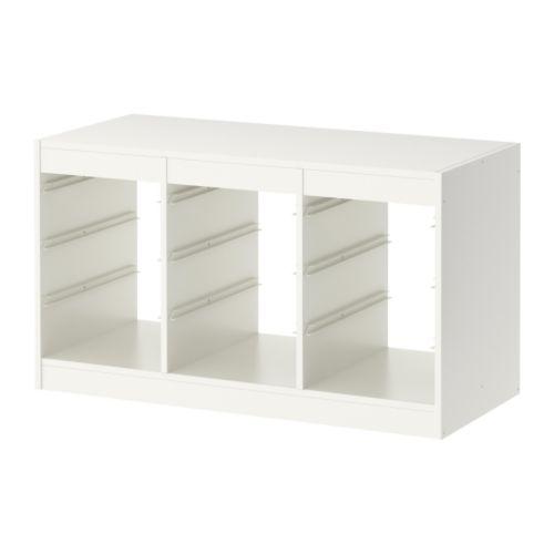 予約商品【IKEAイケア】トロファスト 子供用家具TROFASTフレーム, ホワイト(00169918)WY【RCP】05P04Jul15