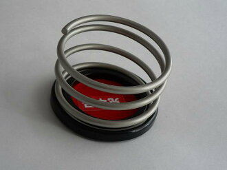 Two drink holder sets of the coil design