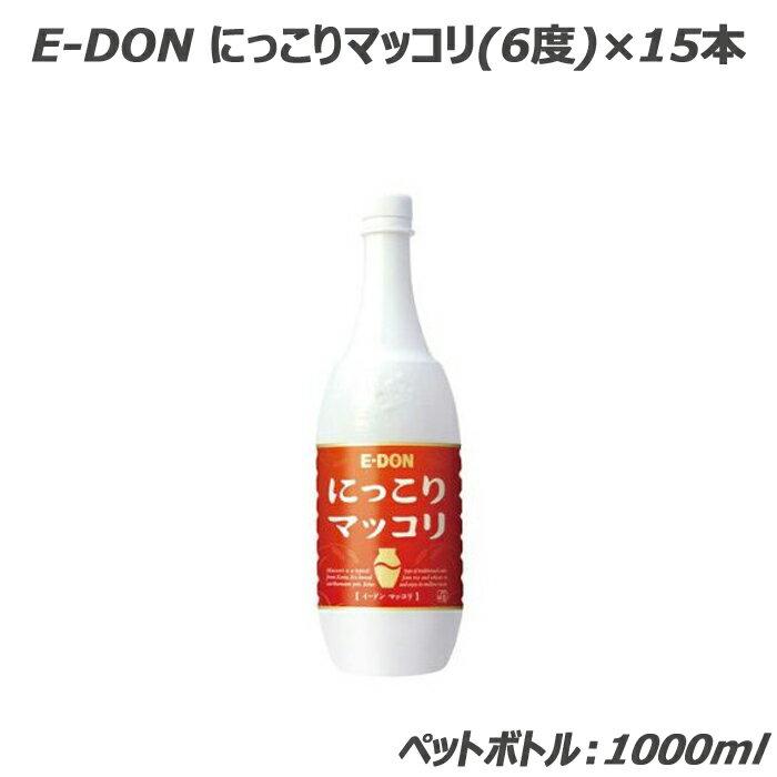 E-DON にっこりマッコリ(ペットボトル)10...の商品画像