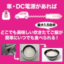 JPN直流家 直流炊飯器 タケルくん DC12V用 1.5合...
