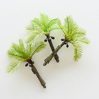 Diorama tree Hawaii, Nankoku Ann palm tree S set