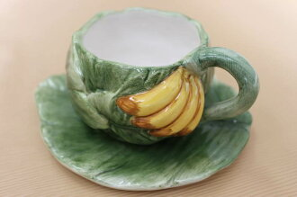 Hawaiian kitchen バナナデザイン Cup Saucer